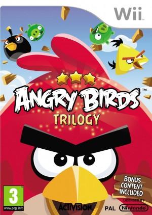 Copertina Angry Birds Trilogy - Wii