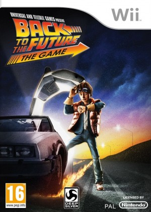 Copertina Back to the Future: The Game - Wii