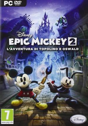Copertina Disney Epic Mickey 2: L'Avventura di Topolino e Oswald - PC