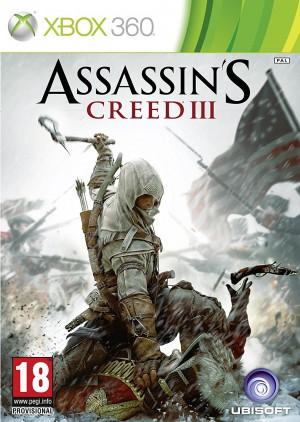 Copertina Assassin's Creed III - Xbox 360