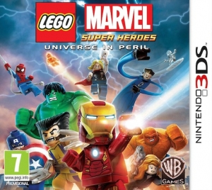 Copertina LEGO Marvel Super Heroes - 3DS