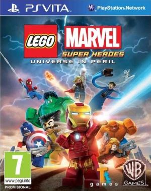 Copertina LEGO Marvel Super Heroes - PS Vita