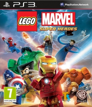 Copertina LEGO Marvel Super Heroes - PS3