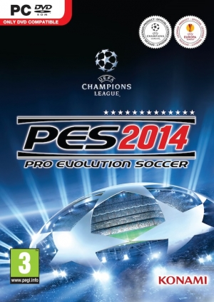 Copertina Pro Evolution Soccer 2014 - PC