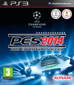 Copertina Pro Evolution Soccer 2014 - PS3