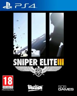 Copertina Sniper Elite 3 - PS4