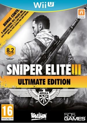 Copertina Sniper Elite 3 - Wii U