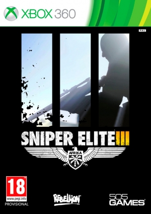 Copertina Sniper Elite 3 - Xbox 360