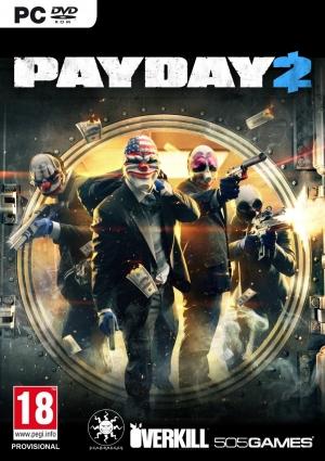 Copertina Payday 2 - PC