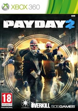 Copertina Payday 2 - Xbox 360