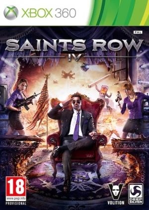 Copertina Saints Row IV - Xbox 360