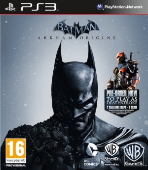 Copertina Batman: Arkham Origins - PS3