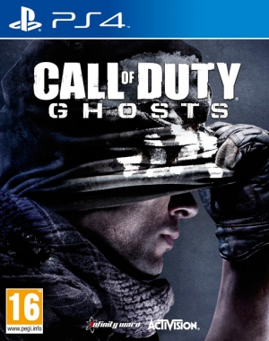 Copertina Call of Duty: Ghosts - PS4