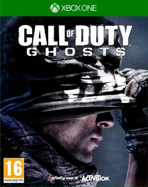 Copertina Call of Duty: Ghosts - Xbox One