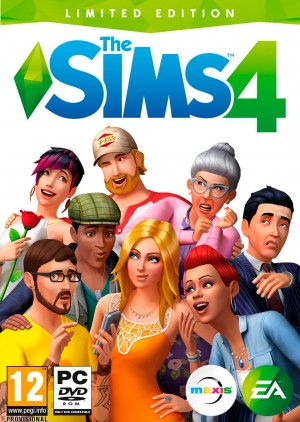 Copertina The Sims 4 - PC