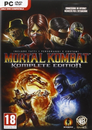 Copertina Mortal Kombat Komplete Edition - PC