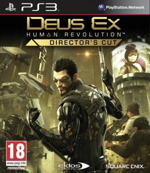 Copertina Deus Ex: Human Revolution - Director's Cut - PS3