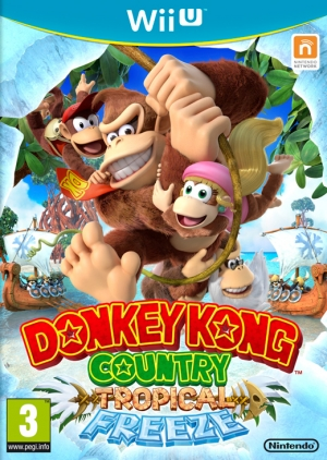 Copertina Donkey Kong Country: Tropical Freeze - Wii U