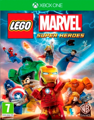 Copertina LEGO Marvel Super Heroes - Xbox One