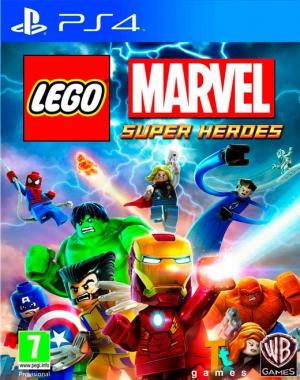Copertina LEGO Marvel Super Heroes - PS4