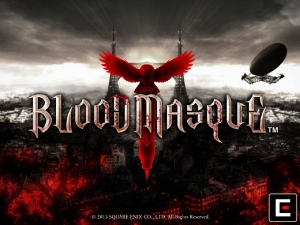 Copertina Bloodmasque - iPad