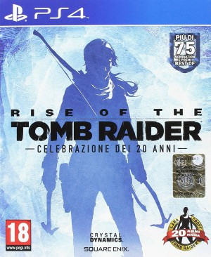 Copertina Rise of the Tomb Raider - PS4