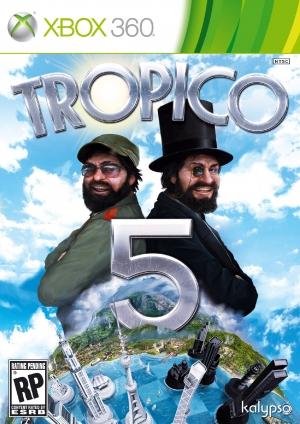 Copertina Tropico 5 - Xbox 360