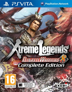 Copertina Dynasty Warriors 8 Xtreme Legends - PS Vita