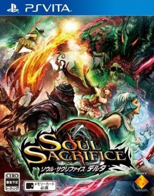 Copertina Soul Sacrifice Delta - PS Vita