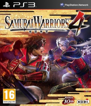 Copertina Samurai Warriors 4 - PS3