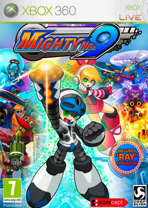Copertina Mighty No. 9 - Xbox 360