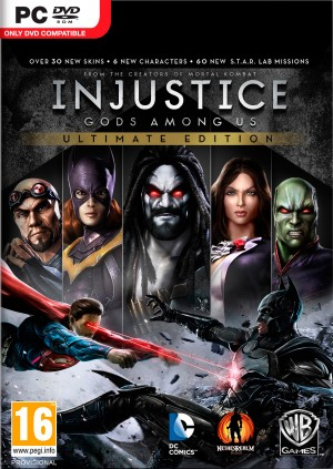 Copertina Injustice: Gods Among Us Ultimate Edition - PC