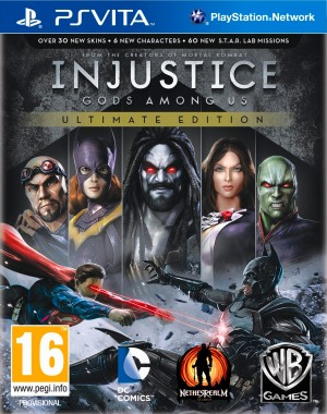 Copertina Injustice: Gods Among Us Ultimate Edition - PS Vita