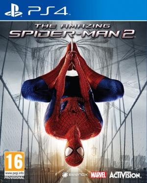 Copertina The Amazing Spider-Man 2 - PS4
