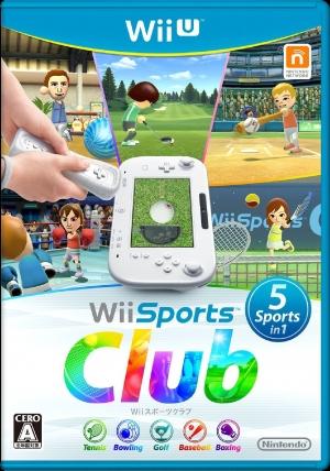 Copertina Wii Sports Club - Wii U