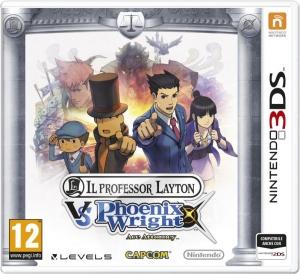 Copertina Il Professor Layton Vs. Phoenix Wright: Ace Attorney - 3DS