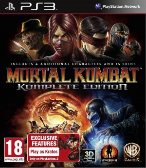 Copertina Mortal Kombat Komplete Edition - PS3