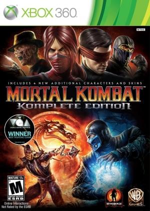 Copertina Mortal Kombat Komplete Edition - Xbox 360