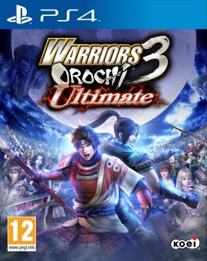 Copertina Warriors Orochi 3 Ultimate - PS4
