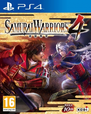 Copertina Samurai Warriors 4 - PS4