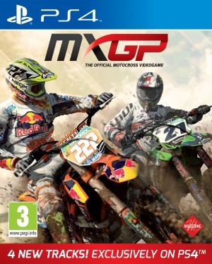Copertina MXGP: The Official Motocross Videogame - PS4