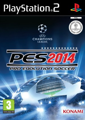 Copertina Pro Evolution Soccer 2014 - PS2