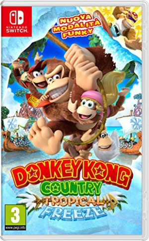 Copertina Donkey Kong Country: Tropical Freeze - Switch