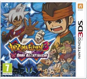 Copertina Inazuma Eleven 3: Ogre All'Attacco! - 3DS
