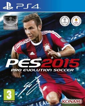 Copertina PES 2015 - PS4