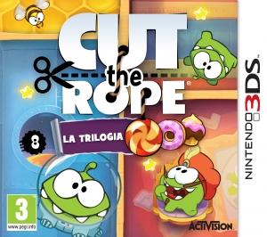 Copertina Cut the Rope: La Trilogia - 3DS