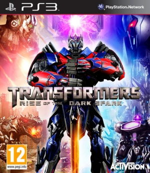 Copertina Transformers: Rise of the Dark Spark - PS3