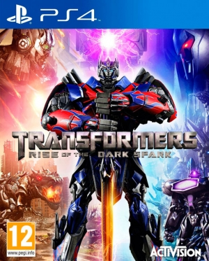Copertina Transformers: Rise of the Dark Spark - PS4
