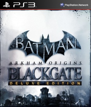 Copertina Batman: Arkham Origins Blackgate - Deluxe Edition - PS3