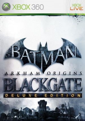 Copertina Batman: Arkham Origins Blackgate - Deluxe Edition - Xbox 360